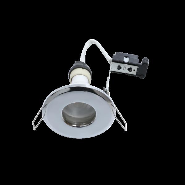 RA Hoop Plus Chrome IP65 Bathroom Downlights