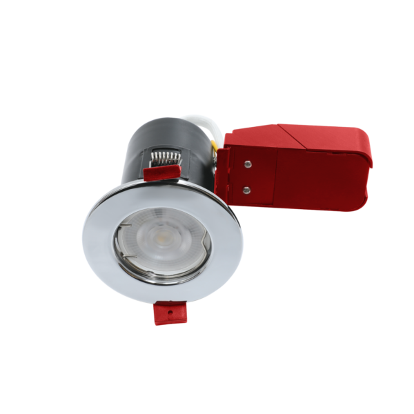Polished Chrome Fire Rated Downlights GU10