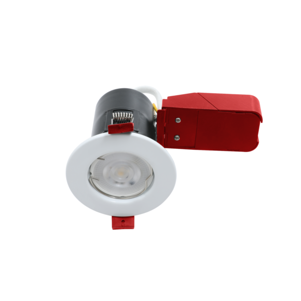 White Fire Rated Downlights GU10