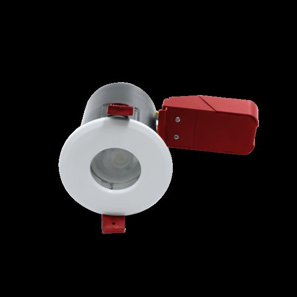 Fire Rated Bathroom GU10 Downlights White