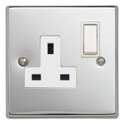 Contactum Polished Chrome Sockets And Switches