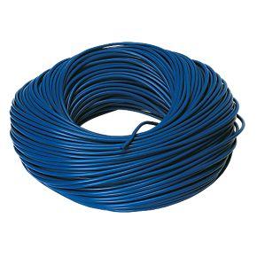 3mm Blue sleeving 100m Drum