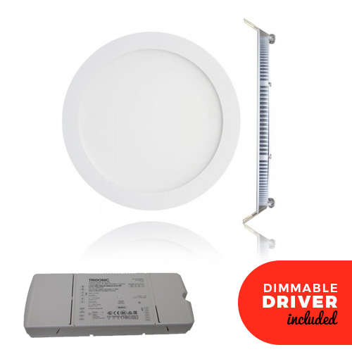 4 Inch Dimmable LED Panel Downlights White 6W