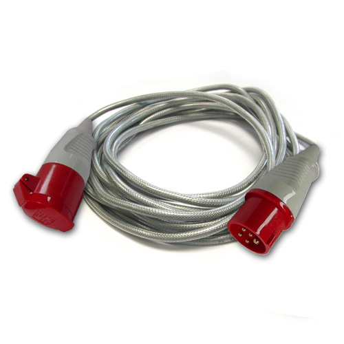3 Phase 415V Extension Lead SY Cable 5 Pin 32A X 15M