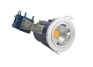 Forum Yate Chrome Fixed Fire Rated Downlight GU10