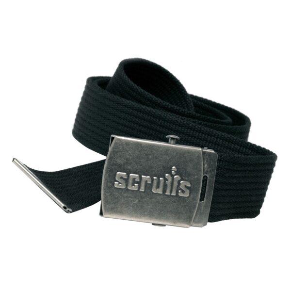 Scruffs Black clip belt