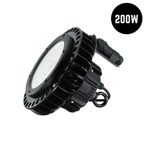 Dimmable Compact LED High Bay Light 200W IP65 6500K