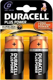 Duracell D type Batteries