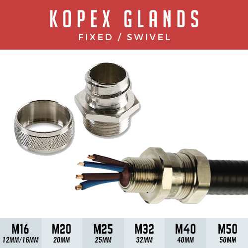 40mm x M40 Fixed Connector