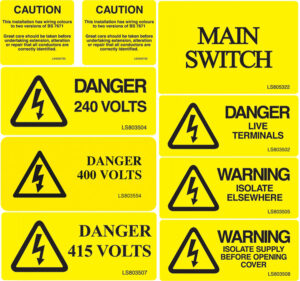 Warning/Caution Labels