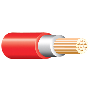 Red Tri Rated Cable
