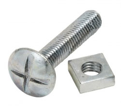 Roofing nuts and bolts M6 x 20 pack of 100