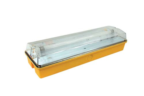 Site lights - Emergency IP65 Maintained 8W T5 Bulkhead 110V Site 3HR Light Fitting