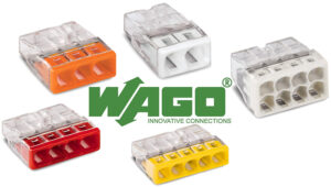 Wago Connectors Perfect for Fire Rated downlights