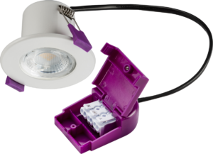 IP65 Dimmable 5W Fire Rated LED Downlight Cool White 4000K - Matte White