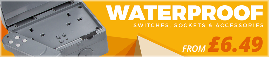 Waterproof Switches, Sockets & Accessories